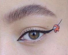 Edgy Makeup, Makeup Eye Looks, Eye Makeup Art, Cute Makeup, Pretty Makeup, Makeup Inspo, Makeup Inspiration, Beauty Makeup, Hair Makeup