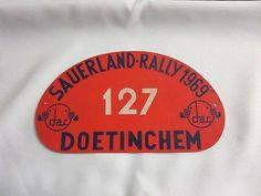 1969-Sauerland-Rally-Car-Club-Rallye-Plate-Plaque-127
