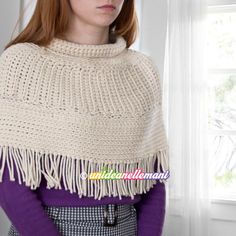 Pullover, Knitting, Crochet, Sweaters, How To Wear, Fashion, Winter Time, Ponchos, Moda