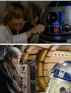 Star Wars parallels are the best