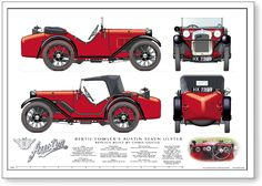 Austin 7 Ulster Sports photos, picture # size: Austin 7 Ulster Sports photos - one of the models of cars manufactured by Austin Vintage Racing, Vintage Cars, Antique Cars, Auto Vintage, Classic Chevy Trucks, Classic Cars, Convertible, Austin Cars, Austin Seven