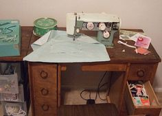 Ask CRAFT: Sewing Machine Cabinet