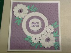 Free emboss and stamp set from Love Card Making issue 10.