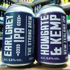 Earl Grey IPA & Howgate & Kemp - 6.8% NZ IPA cans from @marblebrewers available now
