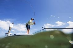 Fly Fishing in the Florida Keys.