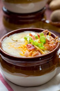 Fully Loaded Baked Potato Soup Recipe - It's loaded up with all the best things in the world. And the soup underneath ain't too shabby either.