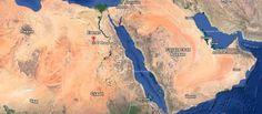 Где расположена страна Египет?