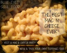 This is one side dish that the kids devour. They always ask for. They get very excited when they hear it's part of dinner. Besides, who doesn't love mac & cheese!? Have you ever though to Host ...