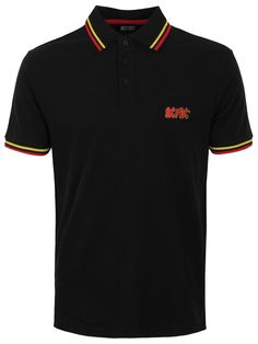 Give your wardrobe a rocking update with this awesome polo from the Aussie legends, AC/DC. Whether you're heading for a family meal, a pint with your besties or out to rock the night away, this classic polo shirt is perfect for every occasion. Official merch.