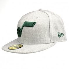 Now your little one can get their head in the big game win with this Utah  Jazz Heather Gray Solid Green Note Fitted Hat and look like a true fan as  you ... 8b344fb7ddbb