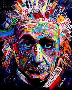 "Saatchi Art is pleased to offer the collage, ""A Relative,"" by Sasha Bom. Original Collage: Paper on Paper. Size is 0 H x 0 W x 0 in. Graffiti Wallpaper Iphone, Tableau Pop Art, Art Visage, Culture Art, Urbane Kunst, Vaporwave Art, Street Art Graffiti, Psychedelic Art, Grafik Design"