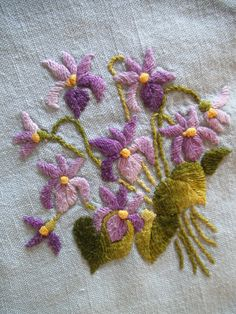 violet embroidery - Google Search