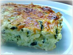 Vivi in cucina: Sformato di zucchine e stracchino - Bimby