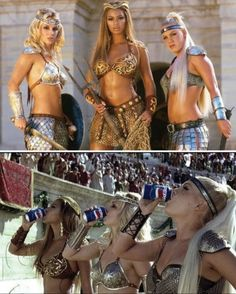 Britney, Beyonce & Pink in Pespi commercial