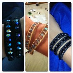 We made our own Chan Luu wrapped style bracelets!! Way cheaper and super easy!!     http://www.beadaholique.com/t-video-How-To-Make-A-Chan-Luu-Style-Wrapped-Bracelet.aspx