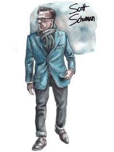Scott Schuman (The Sartorialist) by Sunflowerman