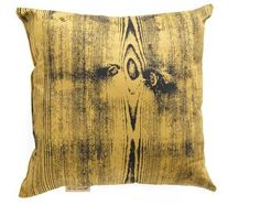 Planks for the Memories pillow $34.99 @ Modcloth