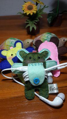 Rabbit earphone Wrap earphone cable earphone by NateekamonShop, $5.90