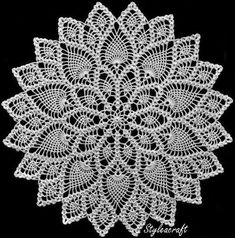 Home Decor Crochet Patterns Part 74 - Beautiful Crochet Patterns and Knitting Patterns Picot Crochet, Crochet Dollies, Crochet Art, Crochet Home, Thread Crochet, Love Crochet, Crochet Motif, Beautiful Crochet, Vintage Crochet