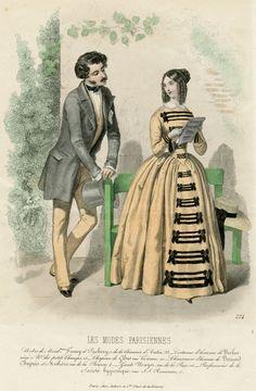 1847 - Les Modes Parisiennes