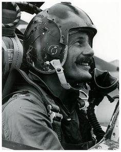 General Robin Olds Military Men, Military History, Fighter Pilot, Fighter Jets, Robin Olds, F4 Phantom, Aircraft Interiors, Supermarine Spitfire, War Photography