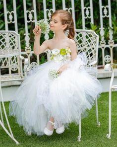 White Tutu Dress for Flower Girls 2T,3T.4T,5T,6T,7T,8T | Rudelyn's Sari Sari Store