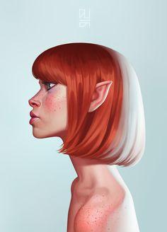 Pixie Portrait by DanielaUhlig.deviantart.com on @DeviantArt
