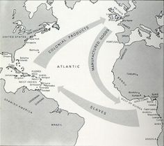 The triangular trade was a three legged trade system that ...
