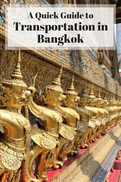 Bangkok, Thailand's chaotic capital, is one of the main transport hubs in Southeast Asia. Even though the transport system might seem a bit confusing at first, it is actually fairly easy to use. Here's your guide to transportation in Bangkok to help you make your stay a little bit less stressful!