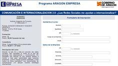 Marketing Internacional y Comercio Exterior. Internacionalización.: Formación y consultoría en marketing internacional online y social media marketing. Programa Empresa (sede del I.A.F. en Zaragoza)
