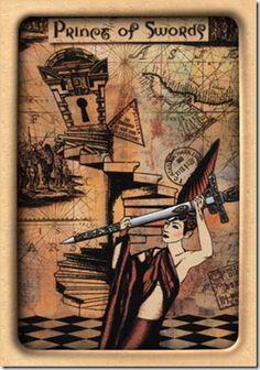 Elementos do Tarot: Carta do Dia: CAVALEIRO DE ESPADAS (Fogo e ar ao extremo)