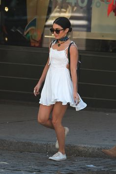 Vanessa Hudgens out and about in NYC (June 24)