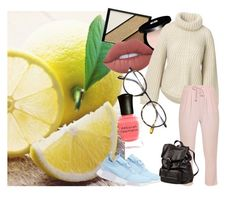 """Untitled #57"" by clemonycookies ❤ liked on Polyvore featuring Seed Design, Elizabeth Arden, Edward Bess, Lime Crime, Frency & Mercury, adidas Originals, Deborah Lippmann and Doucal's"