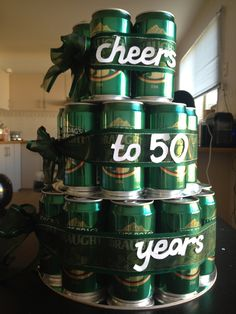 "50th Birthday Present - actually just like the ""Cheers to 50 years"" sentiment"