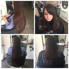 Complete restyle hair donated to charity