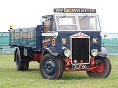 Albion KL127 (1935) Vintage Trucks, Old Trucks, Eddie Stobart Trucks, Old Lorries, Old Wagons, Train Truck, Old Commercials, Cool Vans, Classic Trucks