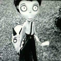<3 Tim Burton <3. Frankenweenie