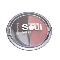 Soul - Just Go - Blush Compacto Rosa Médio