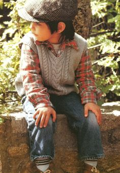 Vest Knitting Pattern For Children : 1000+ images about Children - Knitting and Crochet Patterns on Pinterest Vi...
