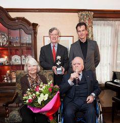 Joachim Wolff, Winnaar Zilveren Roos, doneert aan Bio Vakantieoord, Arnhem