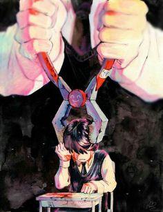 Art You'll Think About. Dark Anime, Kaneki, Anime Kunst, Anime Art, Anime Tumblr, Estilo Anime, Tokyo Ghoul, Dark Art, Oeuvre D'art