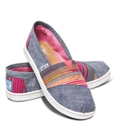 Love this Grey Serape Classics - Youth by TOMS on #zulily! #zulilyfinds