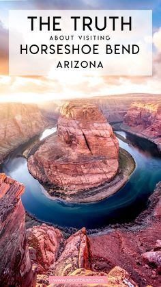 Horseshoe Bend Arizona Travel Guide - Horseshoe Bend in Arizona has been on my bucket list forever! Find out why it was a huge disappoin - Arizona Road Trip, Arizona Travel, Sedona Arizona, Visit Arizona, Arizona Usa, Travel Oklahoma, Usa Travel Guide, Travel Usa, Travel Guides