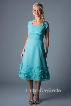 Bridesmaid & Prom, Emmerson | LatterDayBride & Prom Modest Mormon LDS Bridesmaid Dress