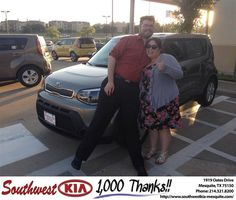 "https://flic.kr/p/t9ymub | #HappyAnniversary to Michael Patterson on your 2014 #Kia #Soul from Clinton Miller at Southwest Kia Mesquite! | <a href=""http://www.southwestkia-mesquite.com/?utm_source=Flickr&utm_medium=DMaxx&utm_campaign=DeliveryMaxx"" rel=""nofollow"">www.southwestkia-mesquite.com/?utm_source=Flickr&utm_...</a>"