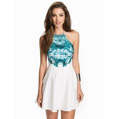 Printed top skater dress $13.10