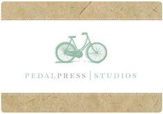 PreDesigned PreMade Custom PEDALPRESS Logo Design