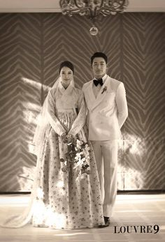 wedding hanbok - Baek Ji Young