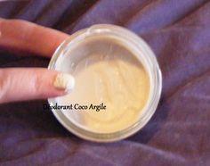 Déodorant Coco Argile  Sans bicarbonate de soude ni huiles essentielles