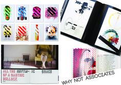 Keuze design bureau 2: Why Not Associates Typografisch vindt ik deze ontwerper enorm sterk. Niet alleen met beeld maar ook met woord durft deze ontwerper buiten de lijntjes te kleuren. Het werk is visueel herkenbaar aan de manier waarop tekst en afbeeldingen gebruikt en gepositioneerd worden. Dit gebeurt steeds op iets wat dezelfde manier maar toch komen hieruit nieuwe mooie en onverwachte composities.